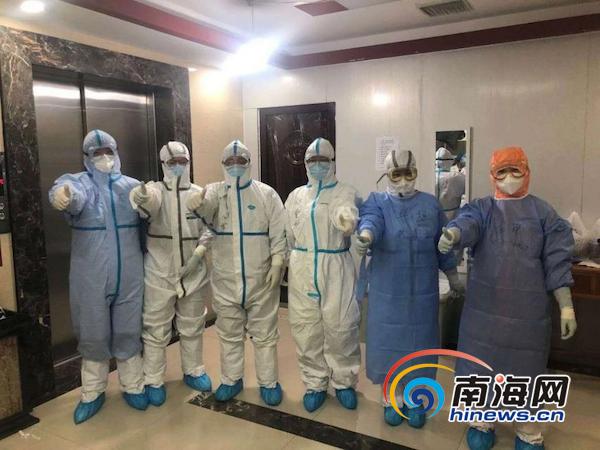 """""""疫情不退 我们不退!""""博鳌乐城先行区援荆医疗队对口医院将接收新一批患者"""