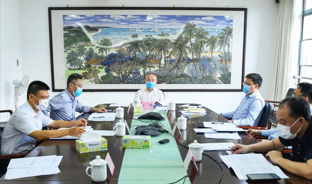 海口市政府与中国旅游集团举行工作会谈