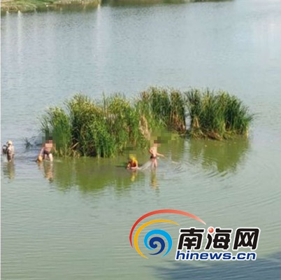 @三亚市民 保护城市河道 请不要
