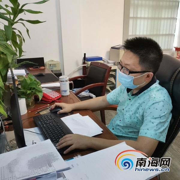 """琼海市检察院邓智标:""""学习强国""""是移动知识库 每日学习已成习"""