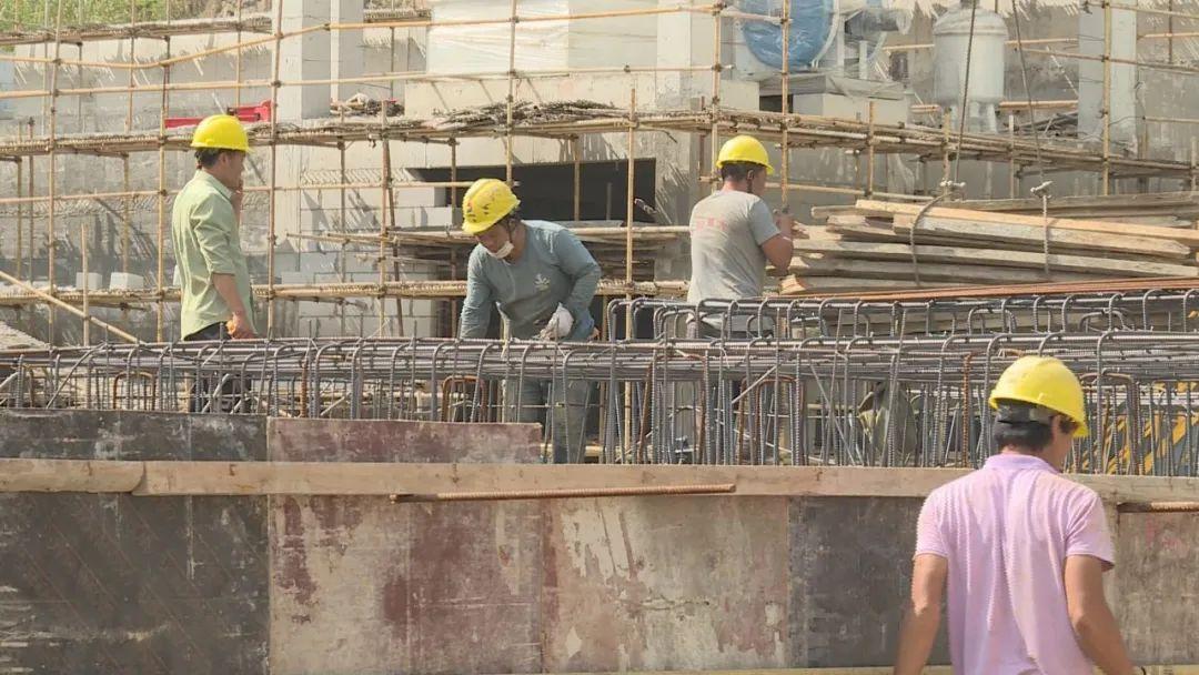 屯昌生活垃圾焚烧发电厂项目有序施工 预计5月底锅炉具备烘煮炉条件