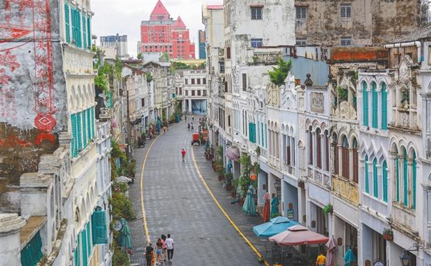 海南周刊 | 曾作为海口繁华、开放的象征 骑楼拥抱国际化生活