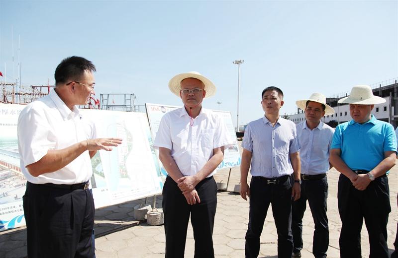文斌在临高调楼调研时强调:落实安全生产主体责任 确保渔港渔业生产安全