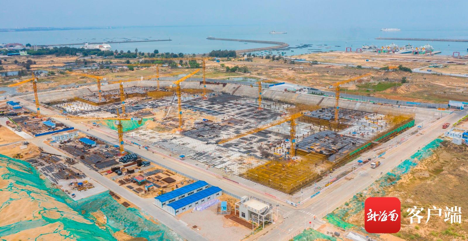 """海口国际免税城项目加速推进 打造免税购物""""新"""