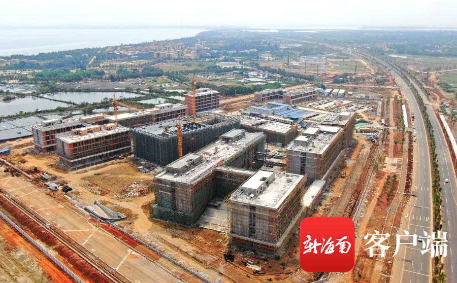 瞰海南 | 海口哈罗公学项目最新进展 现场建设航拍图来了!