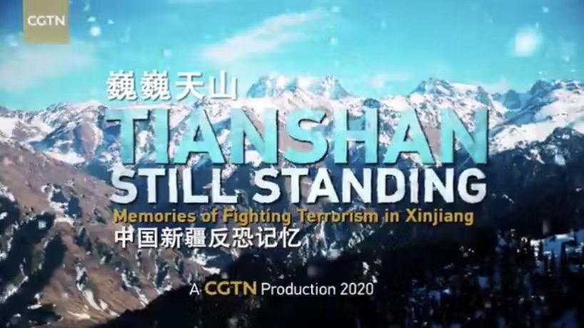 巍巍天山――中国新疆反恐记忆