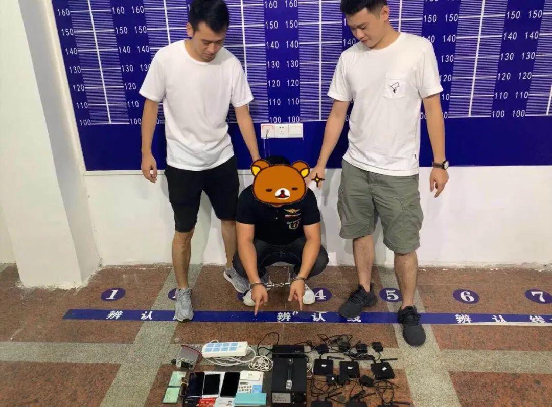 视频!万宁反诈小组抓获电诈嫌疑人2名,捣毁17台GOIP设备