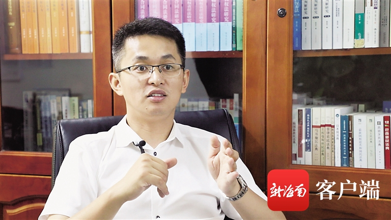 海南大学教授石冠彬讲述民法典编纂背后的故事