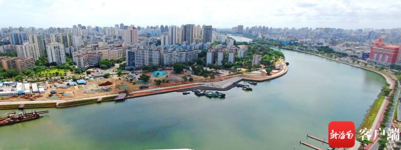 海口湾畅通工程二期有序推进 打造滨水休闲长廊 彰显城市魅力