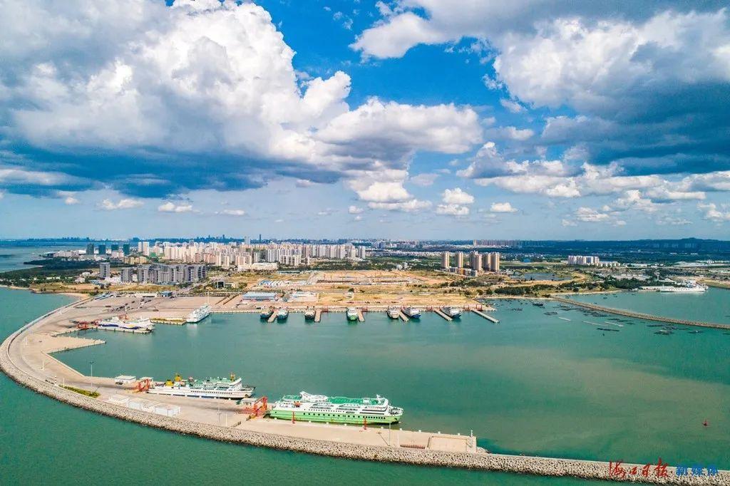 琼粤海上新通道预计10月前投用!海口至湛江过海时间缩短为1小时