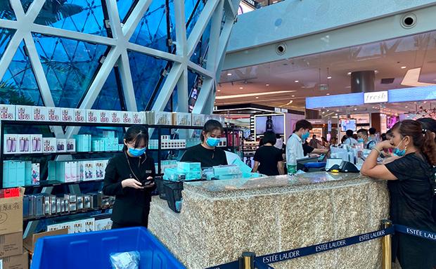 三亚凤凰国际机场新增免税提货点7月10日正式启用