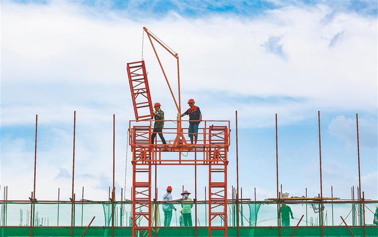 昌江毛豆南繁产业园项目加快建设