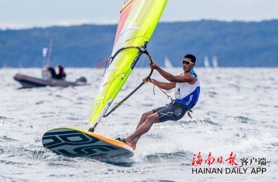 中国帆船帆板队举行体能大比武海南选手毕焜夺得男子组头名-新闻中心-南海网