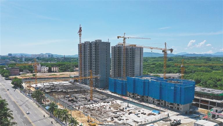 儋州加快建设海南西部中心城市:完善城市功能 积蓄发展动能