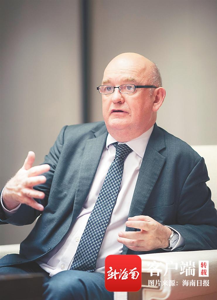 爱尔兰驻华大使李修文:海南为世界带来的机遇令人难忘