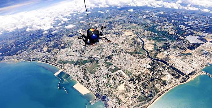 东方推出新玩法 4000米高空跳伞项目开放