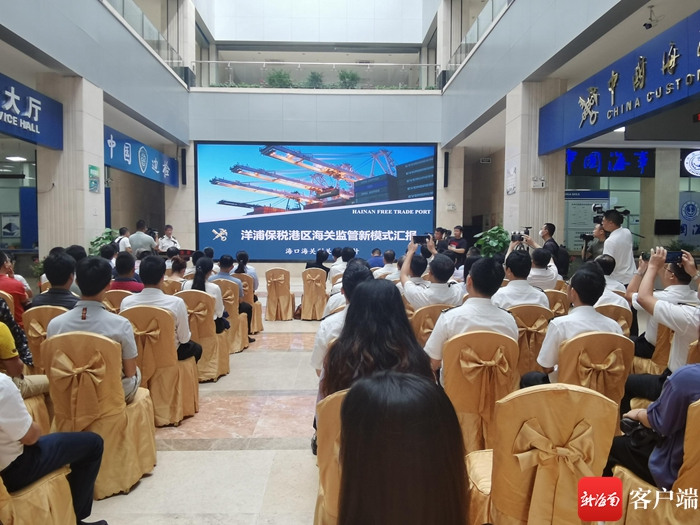 手续简化、无感通关 洋浦保税港区公共信息服务平台功能上线