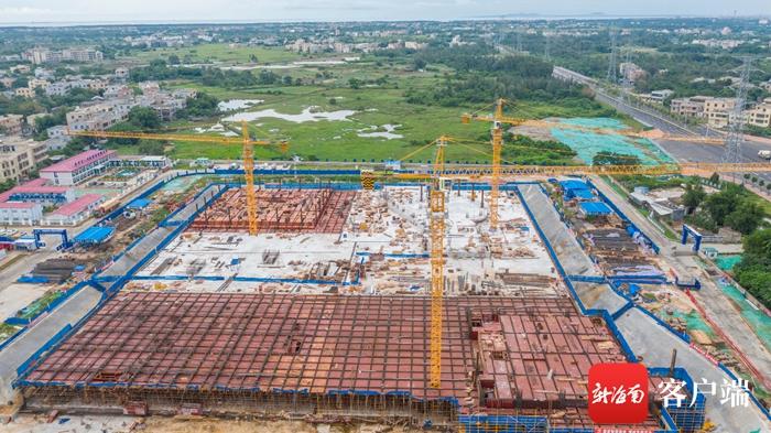 瞰海南 | 设置床位1000张 海南省中医院新院区项目加速推进