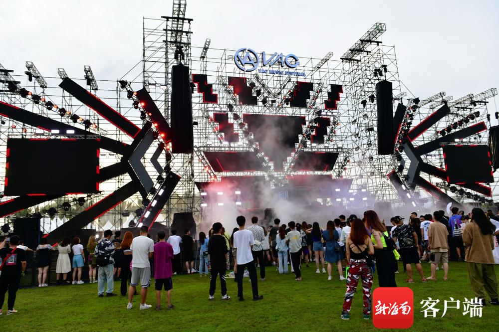 原创组图 | 视听盛宴!VAC海口国际电音节10月2日开幕