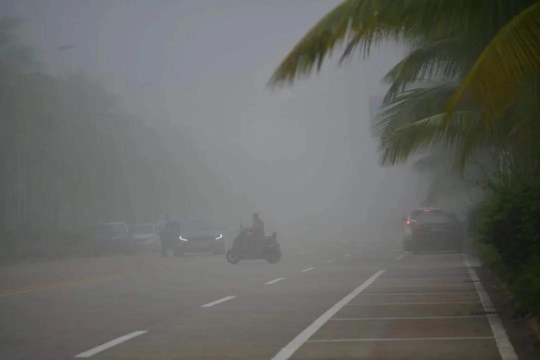 回南天要来了吗?海口天气未来3天都是雾