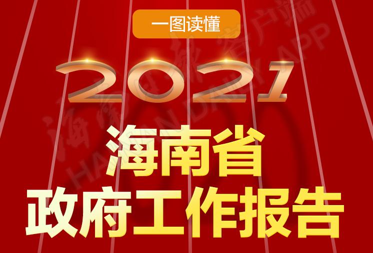 一图读懂2021年海南省政府工作报告