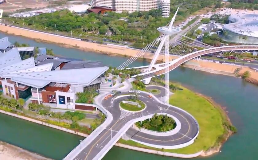 瞰海南 | 换个姿势看海南旅游热门目的地三亚国际免税城