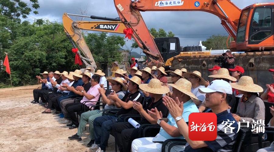 """三亚铁炉港""""海上亚虎体育app森林""""植物园项目开工"""