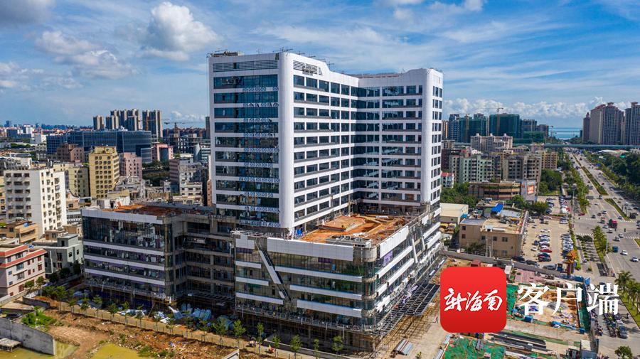 海南现代妇幼医院项目收尾 力争7月底前完工