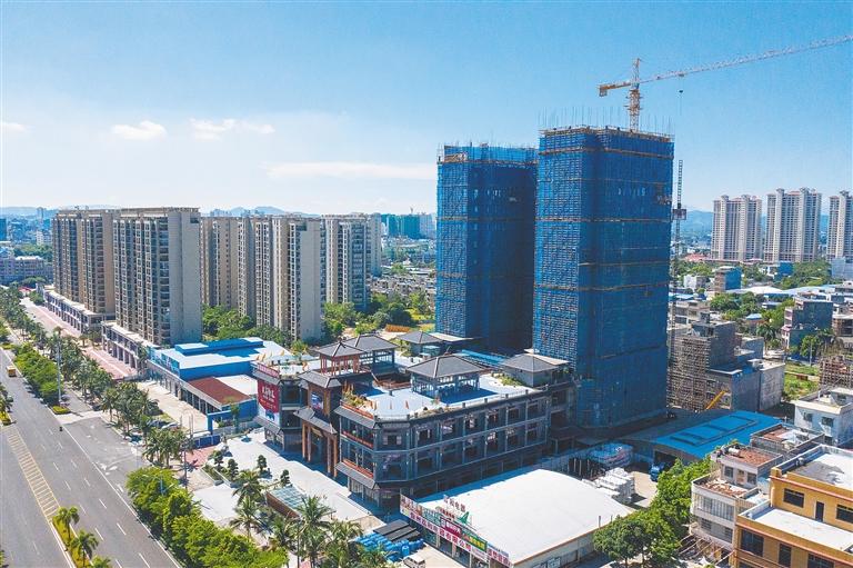 儋州加快建设西部中心城市