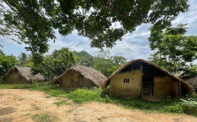 Hainan Diary: The Li Boat-shaped houses of Baicha Village