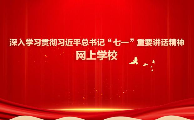"""深入学习贯彻习近平总书记""""七一""""重要讲话精神网"""