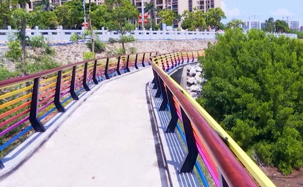 洋浦滨海湿地公园项目预计今年9月开放