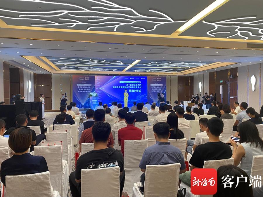 海南自由贸易港旅游电子商务应用平台在三亚揭牌