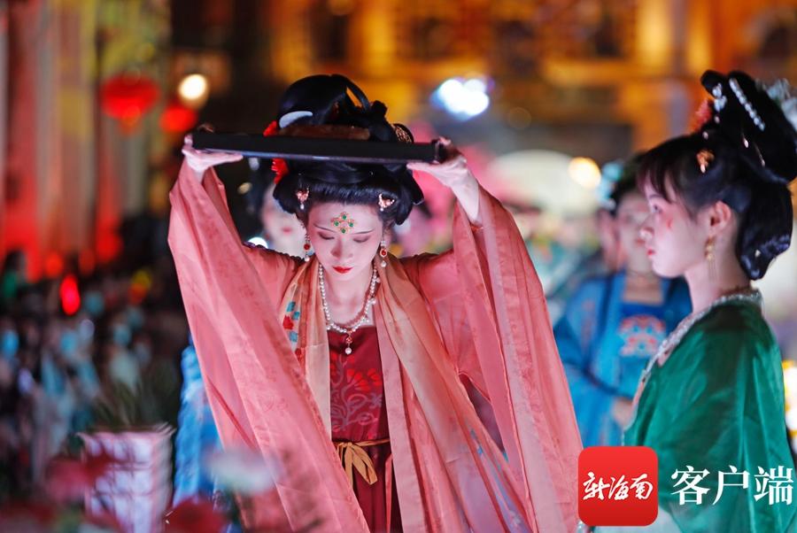 中秋夜海口骑楼活动多多 祭月、中秋国风主题演出