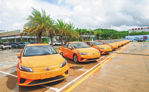 三亞加速新能源汽車推廣(guang) 新能源汽車保有量佔有率全省第一
