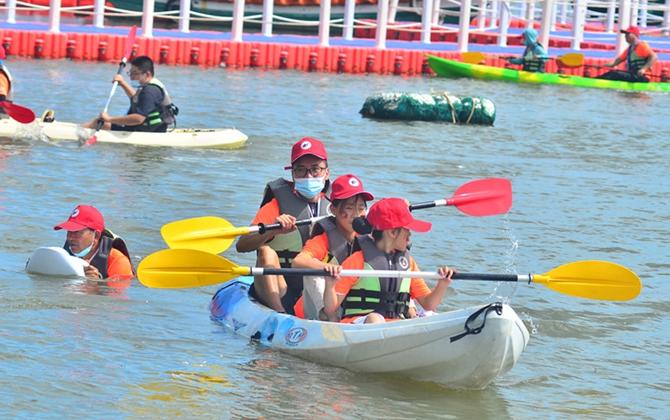 """2021海南""""青春扬帆""""青少年帆船体验营临高开营"""