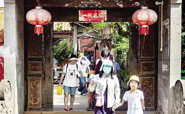 逛古村、品咖啡、游灯会……国庆假期澄迈共接待游客17.19万人次