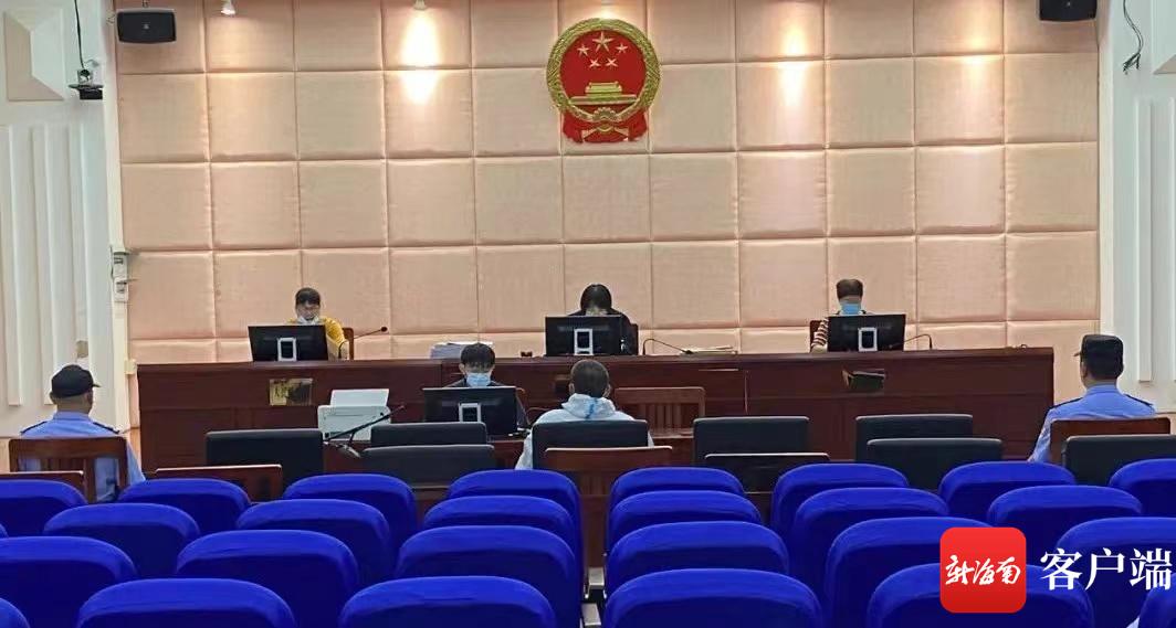 乐东法院公开开庭审理一起帮助犯罪分子逃避处罚案
