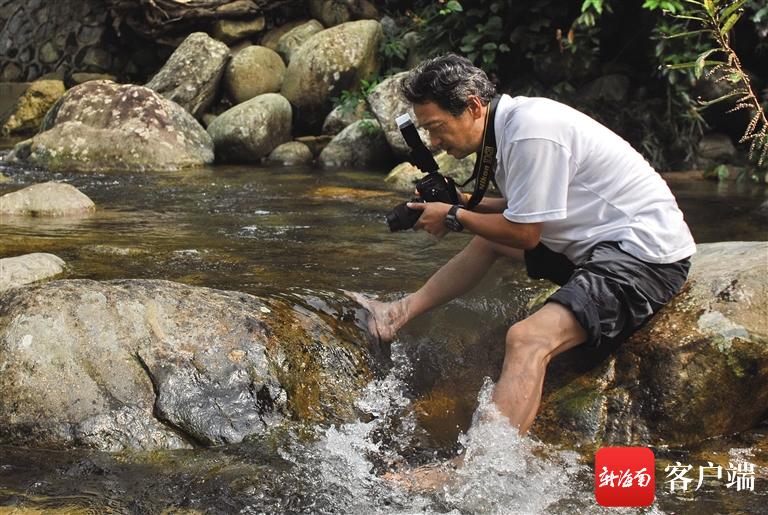 """新华社""""老记""""姜恩宇坚持33年持续记录雨林生态"""