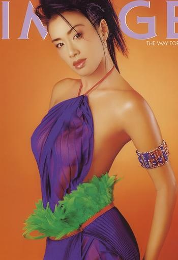 钟丽缇半裸出镜 泰国情色刊物拍摄