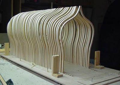 木制帆船模型制造图纸