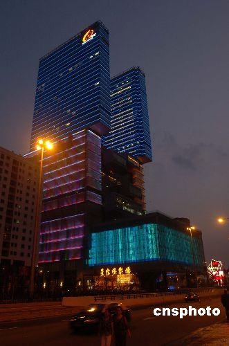楼高三十八层的澳门星际银河酒店娱乐场十月十九日正式开业.