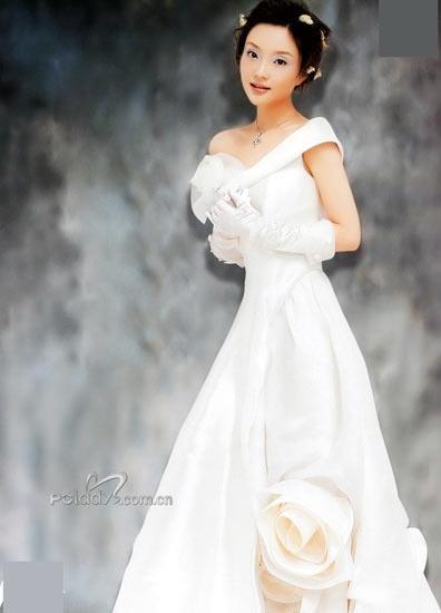 谁是最美丽的婚纱女星图片