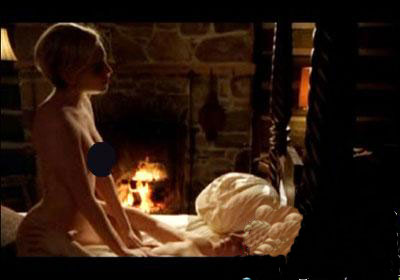 假戏真做 西亚娜新片激情戏裸照网上流传图