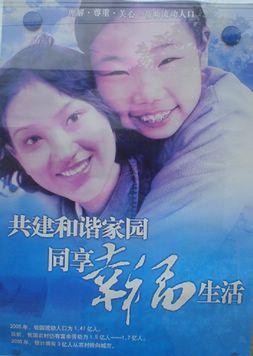 河南省人口和计划生育研究院展板