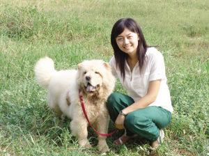 女子与狗 意外死亡