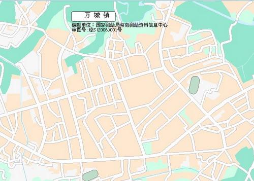 万宁市市区图