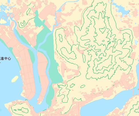 最新三亚市区地图