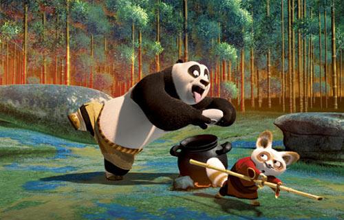 一起侃电影:好莱坞动画巨制《功夫熊猫》