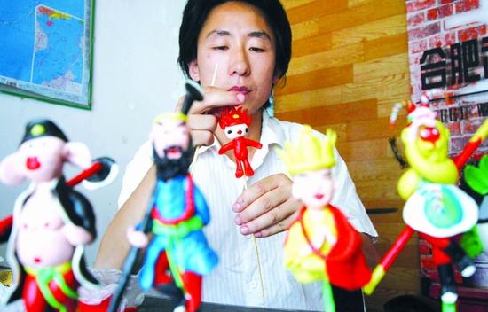 俏丽可爱的十二生肖,当然还少不了展示中华魅力的五福娃……由于痴迷